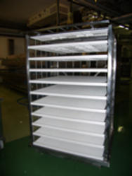 Rack with shelves MAXI