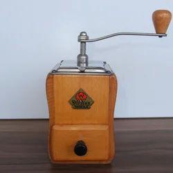 Antique Italian Coffee Grinder Militry
