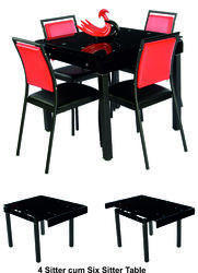 Metal Dining Table Set E-865 B414