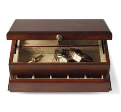 bureau valet storage drawer from bombay co inc. Black Bedroom Furniture Sets. Home Design Ideas