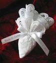 Cotton Napkin Cone Boubouniera