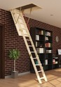 Top Flyte Solid Spruce Loft Ladder With Handrail
