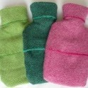 Woven Cashmere Hot Water Bottle Covers