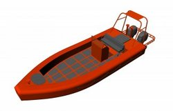 High Speed Target Inflatable Boats
