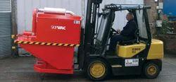 Skip Vac Forklift Machine