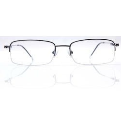 China Half-Rim Half Titanium Optical Eyeglasses Frame