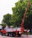 Telescopic Crane Truck
