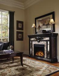 Pulaski Furniture Accessories Reflexions Electric Fireplace Mantel 609650  At Kalins Furniture Store