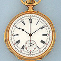 Antique Pocket Watches / Lecoultre Repeater Chronograph