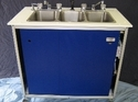 Three Basins Portable Self Contained Sink
