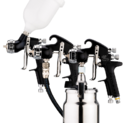 Devilbiss Gti Hd Compliant Spray Gun Range