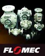 Flomec gear flow meter
