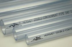 Hershey Clear PVC Pipe
