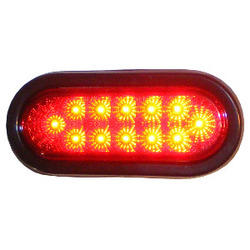 LED Oval Stop Turn and Tail Light