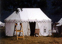 Marquee Tent-tents Of The Fur Trade (mountain Man) Era