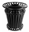 Weathergard Series Trash Containers
