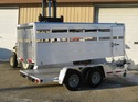 Dual Line Small Livestock Trailers