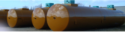 Double skin fuel storage tanks