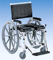 Shower And Toilet Wheelchair