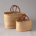 Straw Shopper, Basket
