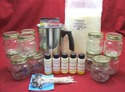 Container Candle Kit-Mason