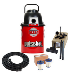The principle of pulse industrial vacuum