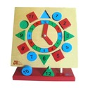 Educational Toys - Chunky Square Clock
