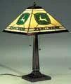 John Deere Tiffany Lamp
