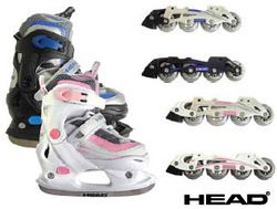 HEAD Kids Dual Ice In-line Skates