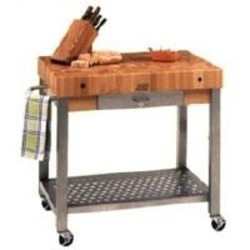 delux kitchen island trolley from vgm international pty