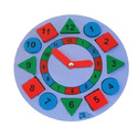 Educational Toys - Chunky Round Clock