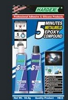 Minutes Metalweld Epoxy Compound
