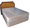 5 Star Divan with Laminate Headboard