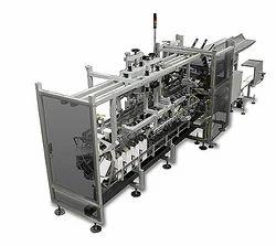 Vector Vertical Manuload Cartoner