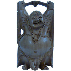 Jaipuri Good Luck Sign Laughing Buddha Handicraft Gift