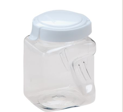 Square Plastic Canister