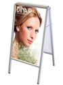 Frame Double Sided Poster Stand