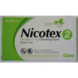 Nicotex 2 mg Chewing Gum