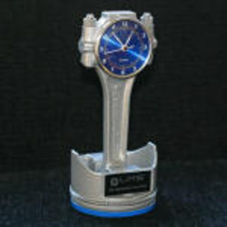 Rod Desk Clocks and Trophies