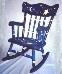 Hand Painted Rocking Chairs From Whimsy Woods. Manufacturer Of Rocking Chair  From Usa