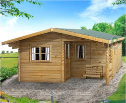 Prefabricated Wooden House Log Cabin