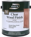 Waterborne Clear Wood Finish