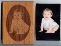 Custom Engraved Photos Frame