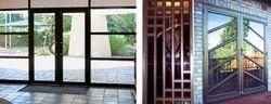 Aluminum Hinged Doors