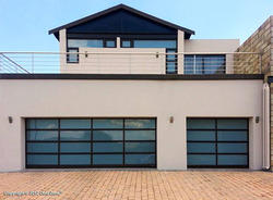 Aluminum steel sectional garage doors from doorzone for Door zone garage doors