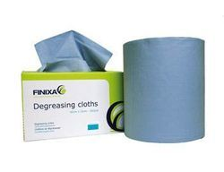 Degreasing cloths